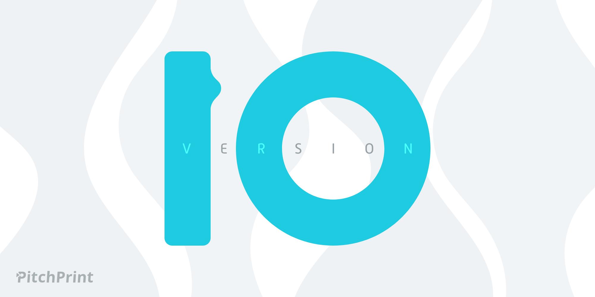 Version 10 Release