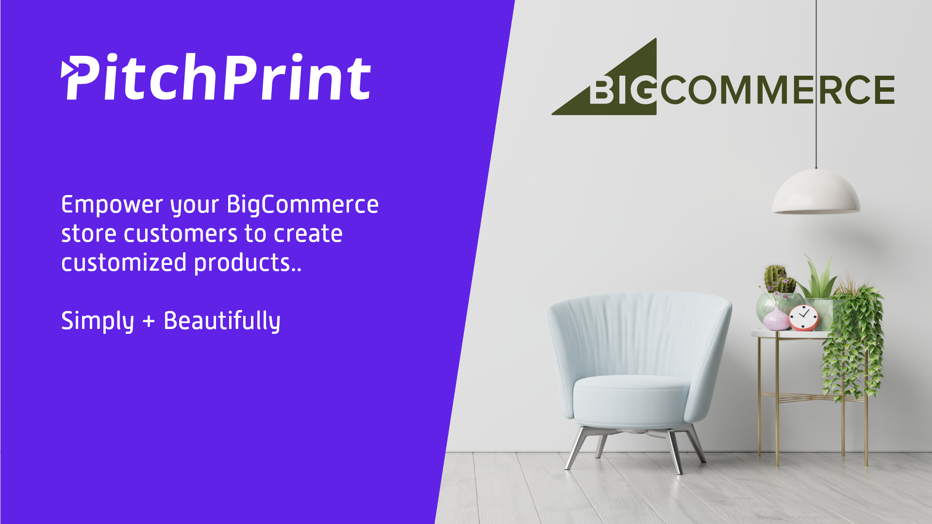 PitchPrint + BigCommerce